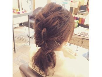 簡単hairarrange! 高田馬場 美容室_20151124_1