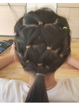 子供の髪 簡単 アレンジ!!!_20200908_1