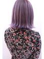 美髪カルテ「冬でもラベンダーカラー」