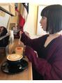 cafe girl△