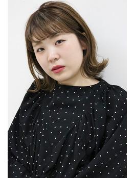 切りっぱなし 外ハネボブ  泉中央駅 美容室 Utata(ウタタ)