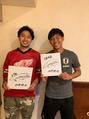 サッカー日本代表の遠藤航選手カットしてきました☆