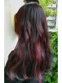 【mix color★dark cherry red】