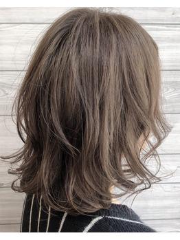 巻き髪ミディアムとハイグレージュ♪_20180228_1