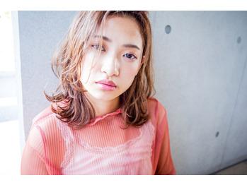 夏のおしゃれミディアムととろみカラー【ハマダ】_20180808_2