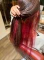 ベーシック ヘア クリエイション(BASIC hair creation)インナーカラー
