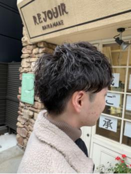 クシャッとカッコイイ【ツイストスパイラルパーマ】_20200119_1