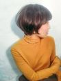 乾かすだけでまとまるショートヘア☆吉岡沙理