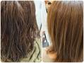 *ドライでまとまる髪質改善酸性ストレート【施術例】*