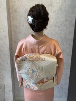 結婚式のお呼ばれヘアセット。川村Asami_20201104_3