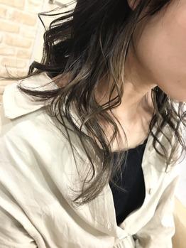 インナーカラー・カーキベージュ_20190513_1