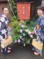 浴衣で京都に出かけました。。スタイリスト谷本の休日