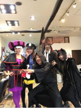 ハロウィン仮装営業 2日目_20171106_1