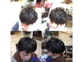 一度で髪の収まりよくしながらカールを実現!髪質改善