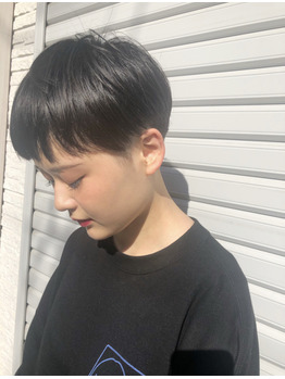 ベリーショート/黒髪ショート/スタイルチェンジ_20200706_2