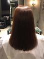 髪質改善!弱酸性縮毛矯正×弱酸性カラーでツヤサラ髪
