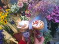お花とクレープのお店?!