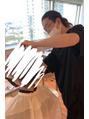 エンクス(enx)雑誌の撮影にいきました 横浜鶴ヶ峰美容室