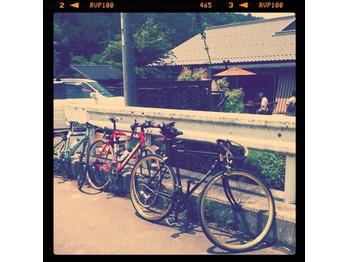 久々、自転車部