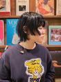 oguma hair /アシンメトリーバランスのデザインカット