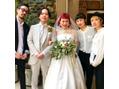 お客さん結婚式のヘアメイク!!