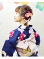川越美容室craftのキュートな浴衣スタイル♪