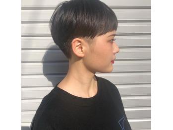 ベリーショート/ぱっつん前髪/大人ショート_20200805_4