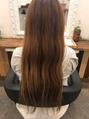 夏の紫外線で色落ちした髪には是非・・・!!!