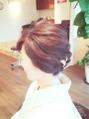 HAIR大人ゆるヘア(*´Д`)