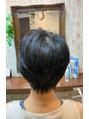 クロムヘアー(CHROME HAIR)ヘアドネーションからショートスタイルに。
