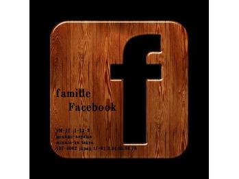 face book ページ!
