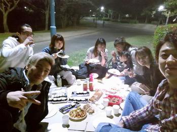 夜桜Party&春style_20180406_1