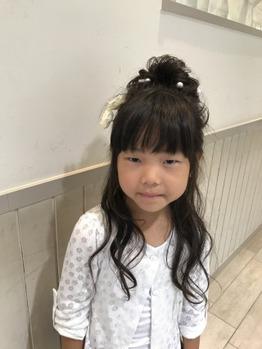 キッズヘアアレンジ☆ 溝の口 美容室_20170705_2