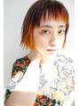 秋のオシャレ可愛いヘアカラー