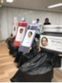 ジュール 銀座 ヘアラウンジ(Joule Hair Lounge)ナプラ社にて新カラーの講習会