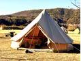 真冬のソロキャンプ