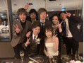 同期の結婚式(о´∀`о)