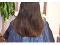 久々の縮毛矯正、膨らむ髪をまとまりやすく!