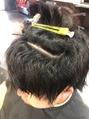 TOSHIの酸性縮毛矯正