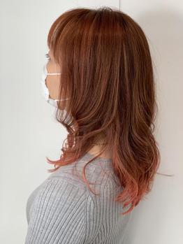 髪質改善×デジタルパーマ
