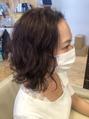 癖とダメージ毛におすすめカラー [新宿]