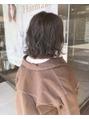 ヘアメイク シュシュ(Hair make chou chou)パーマスタイルにあったカラーリング♪