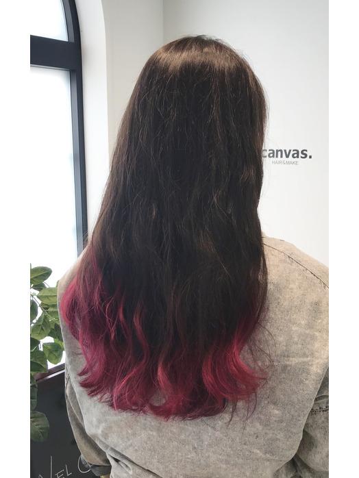 裾カラー☆ピンク☆紫_20190717_1