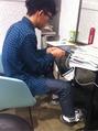僕のメインアシスタントの 藤井 智章という男。