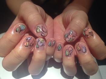 new nail♪_20140403_1