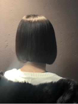 艶髪ストレートでミニボブ!_20190126_1