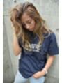 MASSIVE Tシャツ  ☆ネイビー☆