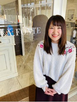 プロフィール写真、更新しましたー!川村Asami_20200202_4