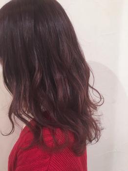 色々なピンクカラー♪ 高田馬場 美容室_20180309_4
