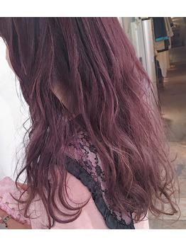色々なピンクカラー♪ 高田馬場 美容室_20180309_1